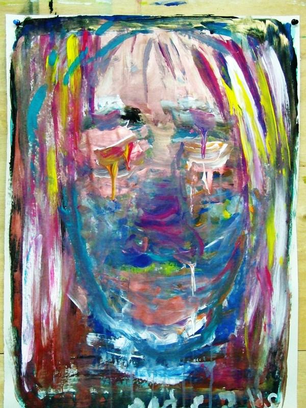 הציור של ר' בסדנת דיוקן עצמי