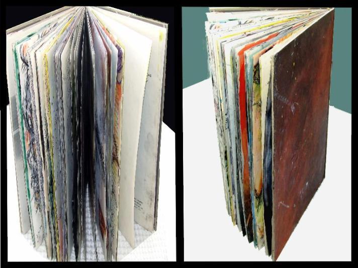 ספר אובייקט - חזות חיצונית