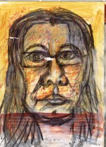 מתוך 'ספר אובייקט' - 'דיוקן בשירת אגם' - נורית צדרבוים 2003