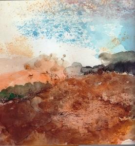 מתוך סדרת ציורי אקוורל - רחל אלקלעי