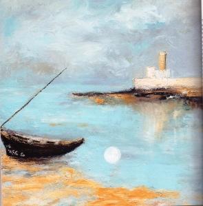 מתוך ציורי ים - רחל אלקלעי