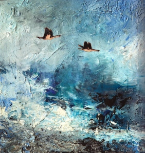 מתוך סדרת נופי ים -- רחל אלקלעי