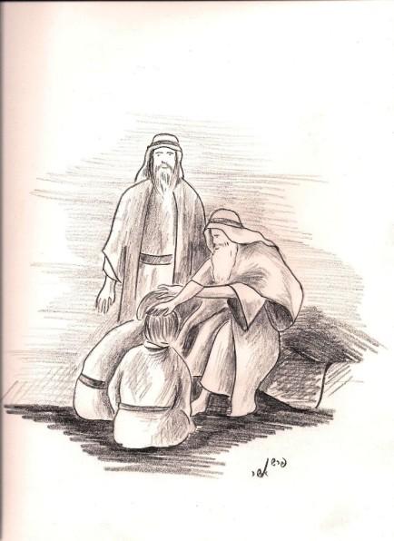 פרשן אשר - ההצלבה